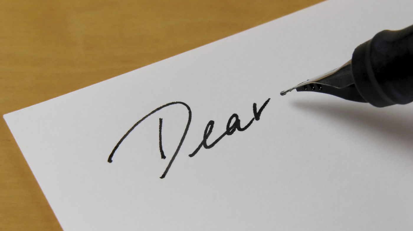 An Etiquette of Writing Letters